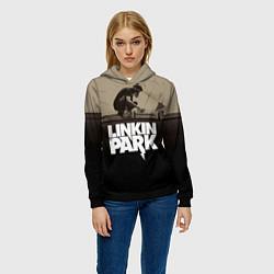 Толстовка-худи женская Linkin Park: Meteora цвета 3D-черный — фото 2