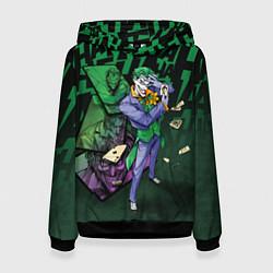 Толстовка-худи женская Joker Games цвета 3D-черный — фото 1