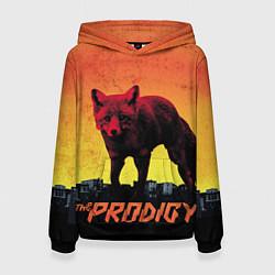 Толстовка-худи женская The Prodigy: Red Fox цвета 3D-черный — фото 1