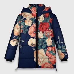 Женская зимняя куртка Fashion flowers