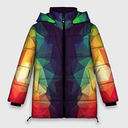 Куртка зимняя женская Grazy Poly VPPDGryphon цвета 3D-черный — фото 1