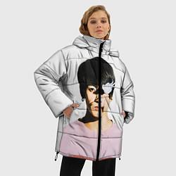 Женская зимняя 3D-куртка с капюшоном с принтом Jungkook, цвет: 3D-черный, артикул: 10114634606071 — фото 2