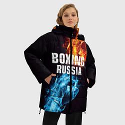 Куртка зимняя женская Boxing Russia - фото 2