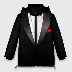 Куртка зимняя женская Смокинг мистера цвета 3D-черный — фото 1