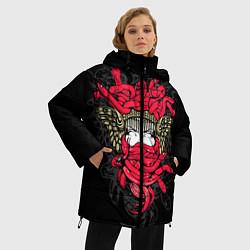 Куртка зимняя женская Горгона Медуза - фото 2