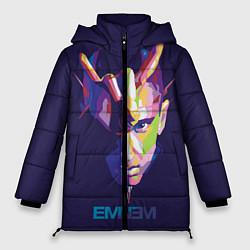 Куртка зимняя женская Eminem V&C цвета 3D-черный — фото 1
