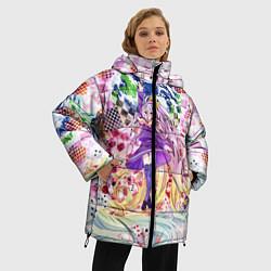 Куртка зимняя женская No Game No Life 9 цвета 3D-черный — фото 2