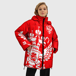 Куртка зимняя женская Красная Россия - фото 2
