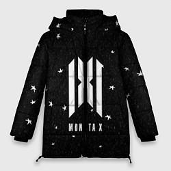 Женская зимняя 3D-куртка с капюшоном с принтом MONSTA X, цвет: 3D-черный, артикул: 10184586506071 — фото 1