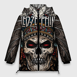 Куртка зимняя женская Led Zeppelin - фото 1