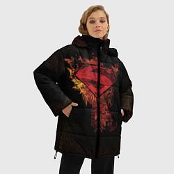 Куртка зимняя женская Superman - фото 2