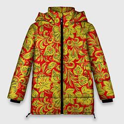 Женская зимняя куртка Хохлома