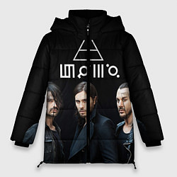 Куртка зимняя женская 30 seconds to mars цвета 3D-черный — фото 1