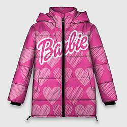 Куртка зимняя женская Barbie цвета 3D-черный — фото 1