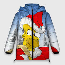Куртка зимняя женская Санта Гомер цвета 3D-черный — фото 1