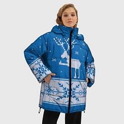 Куртка зимняя женская Олень - класс - фото 2