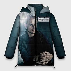 Куртка зимняя женская Armin Van Buuren цвета 3D-черный — фото 1