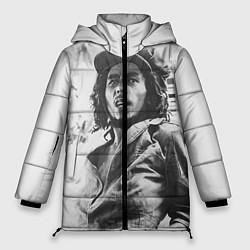 Куртка зимняя женская Молодой Боб Марли цвета 3D-черный — фото 1