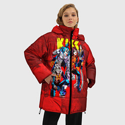 Куртка зимняя женская KISS: Hot Blood цвета 3D-черный — фото 2