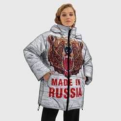 Куртка зимняя женская Bear: Made in Russia - фото 2