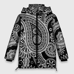 Куртка зимняя женская Paisley цвета 3D-черный — фото 1