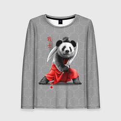 Лонгслив женский Master Panda цвета 3D — фото 1