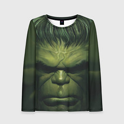 Лонгслив женский Immortal Hulk цвета 3D-принт — фото 1