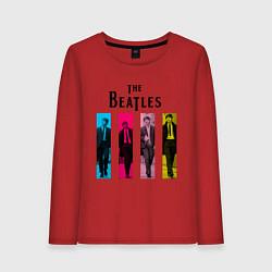 Женский лонгслив Walking Beatles