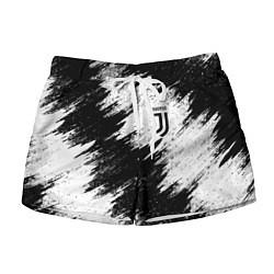 Шорты женские FC Juventus цвета 3D-принт — фото 1