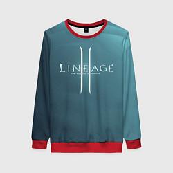 Свитшот женский LineAge II цвета 3D-красный — фото 1