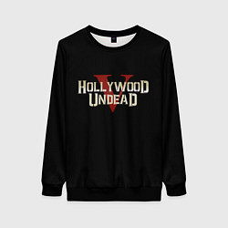 Свитшот женский Hollywood Undead V цвета 3D-черный — фото 1