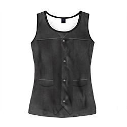 Майка-безрукавка женская Униформа Дэрила цвета 3D-черный — фото 1
