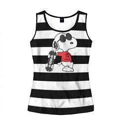 Майка-безрукавка женская Vans Doggy цвета 3D-черный — фото 1