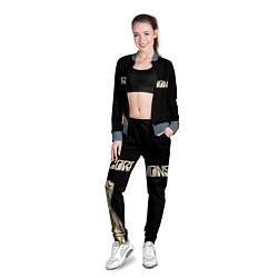 Олимпийка женская Scorpions Rock цвета 3D-серый — фото 2