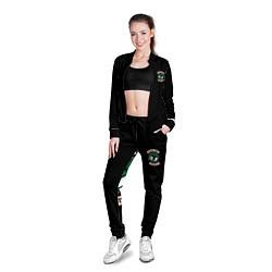 Олимпийка женская SERPENTS цвета 3D-черный — фото 2