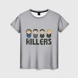 Футболка женская The Killers Boys цвета 3D — фото 1