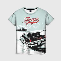 Футболка женская Fargo Car цвета 3D — фото 1