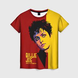 Футболка женская Green Day: Billy Joe цвета 3D — фото 1