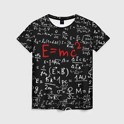 Футболка женская E=mc2 цвета 3D — фото 1