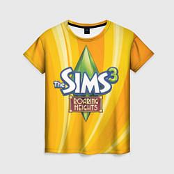 Футболка женская The Sims: Roaring Heights цвета 3D — фото 1