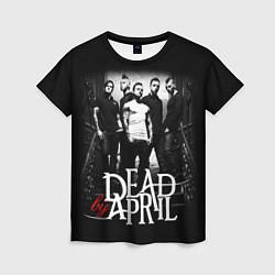 Футболка женская Dead by April: Dark Rock цвета 3D — фото 1