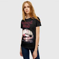 Футболка женская Machine Head: Catharsis цвета 3D — фото 2