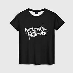 Футболка женская My Chemical Romance spider цвета 3D — фото 1