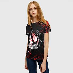 Футболка женская My Chemical Romance цвета 3D-принт — фото 2