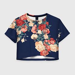 Женский топ Fashion flowers